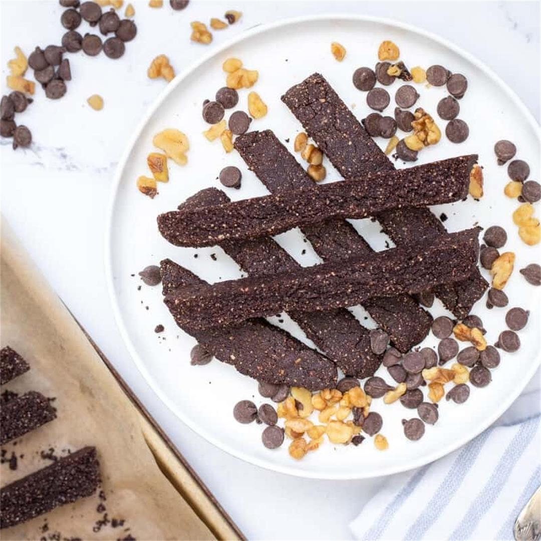 Keto Chocolate Biscotti Recipe