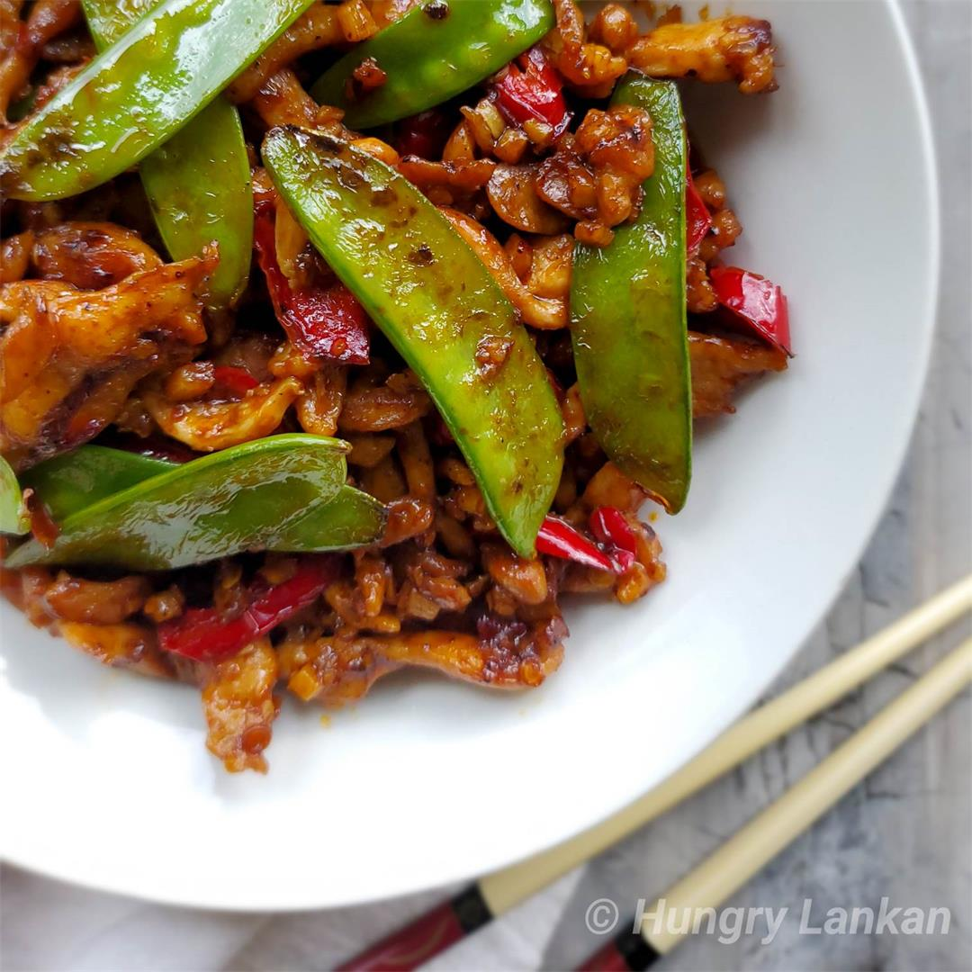 Chicken with Chili Bean Sauce Recipe