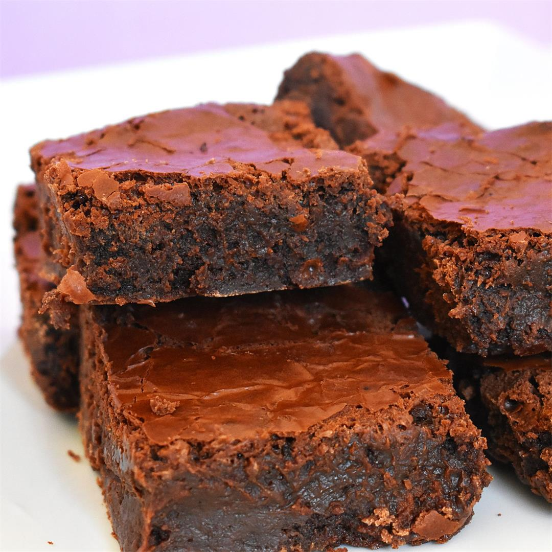 Flourless Nutella Brownies