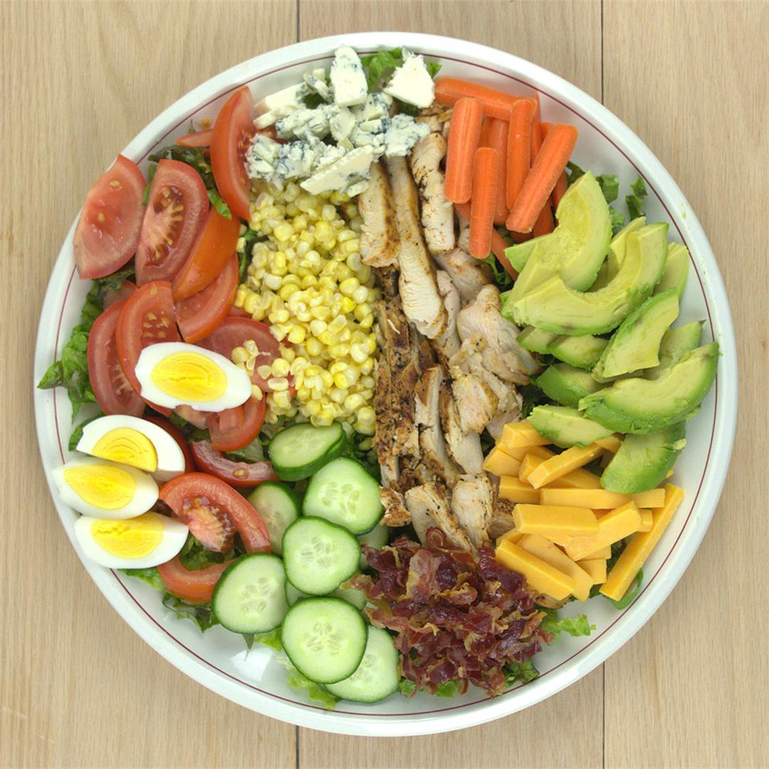 Cobb Salad with Ranch Dressing – A Gourmet Food Blog