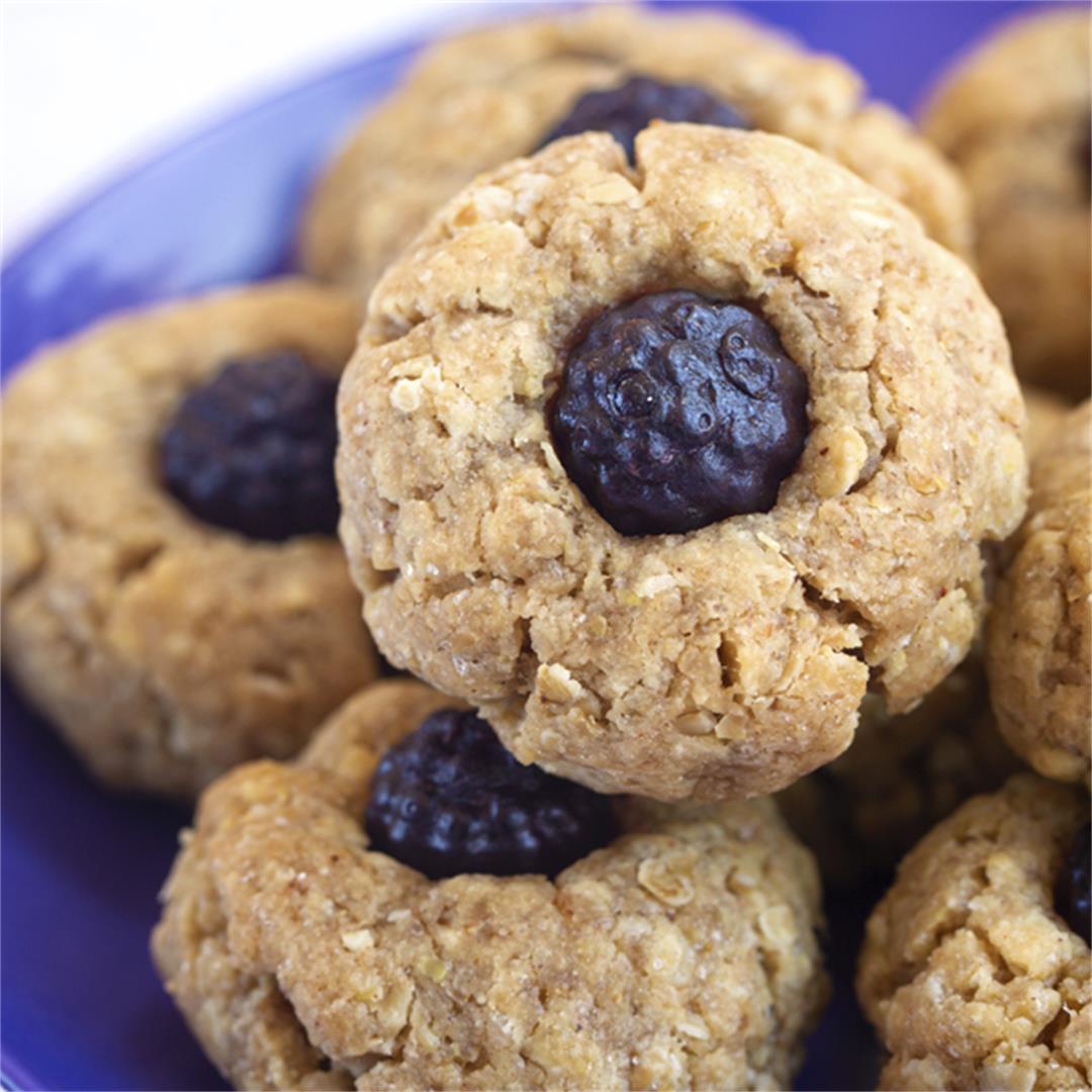 Elderberry Thumbprint Cookies