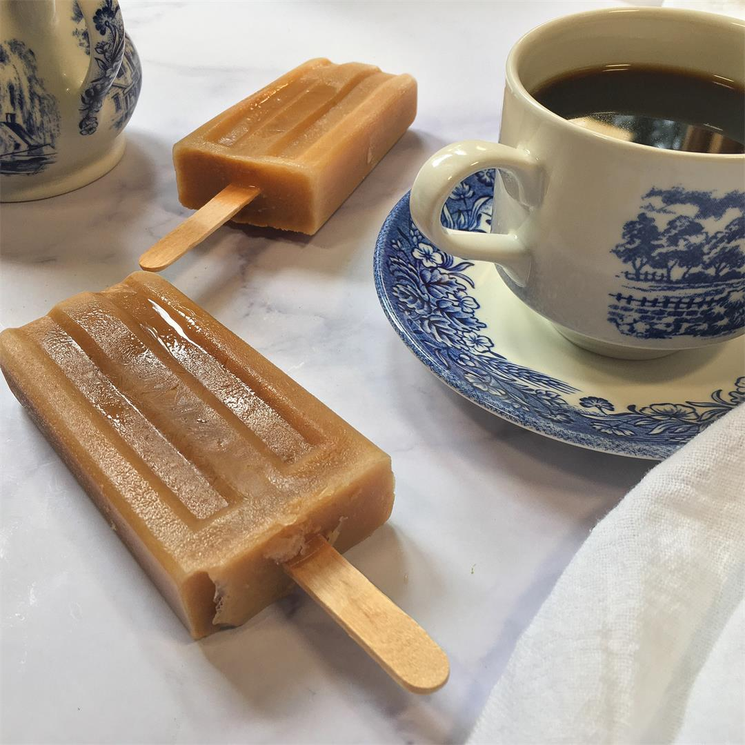 What to do with leftover coffee: 15-calorie coffee popsicles