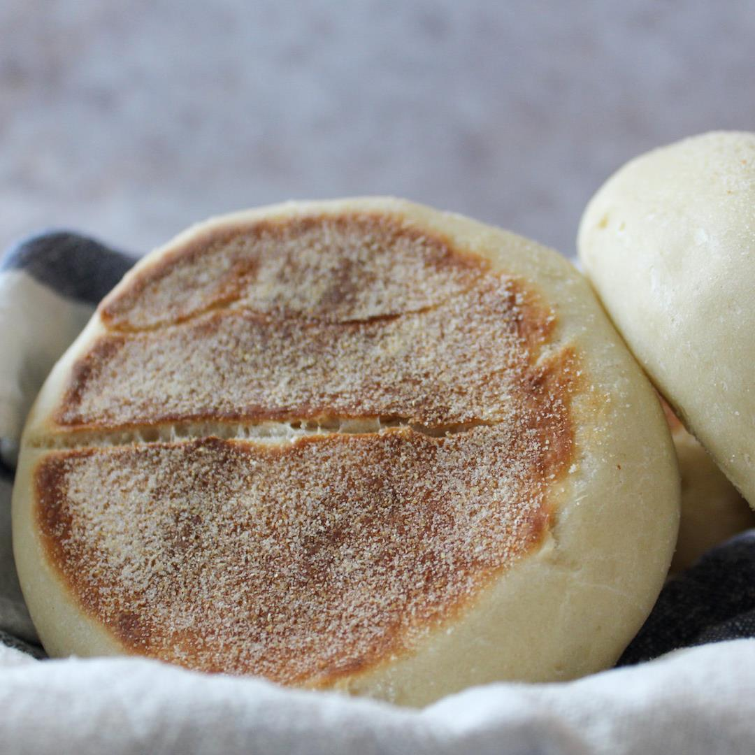 Easy to make super fluffy traditional English muffins