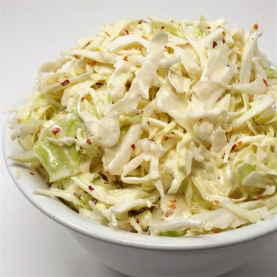 Spicy Mayo Coleslaw