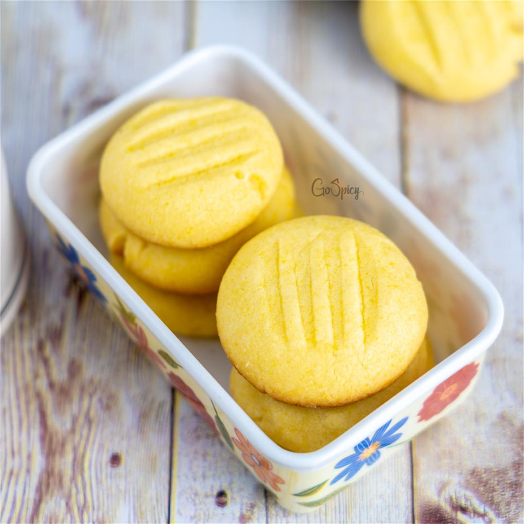Custard Cookies Recipe Without Oven