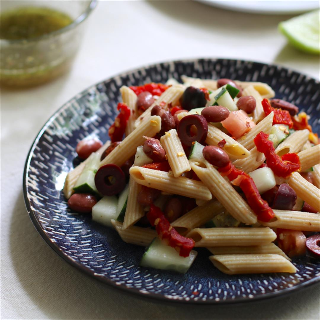Pasta Salad with Beans