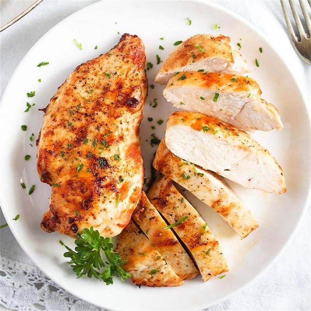 Frozen Chicken Breast in the Air Fryer