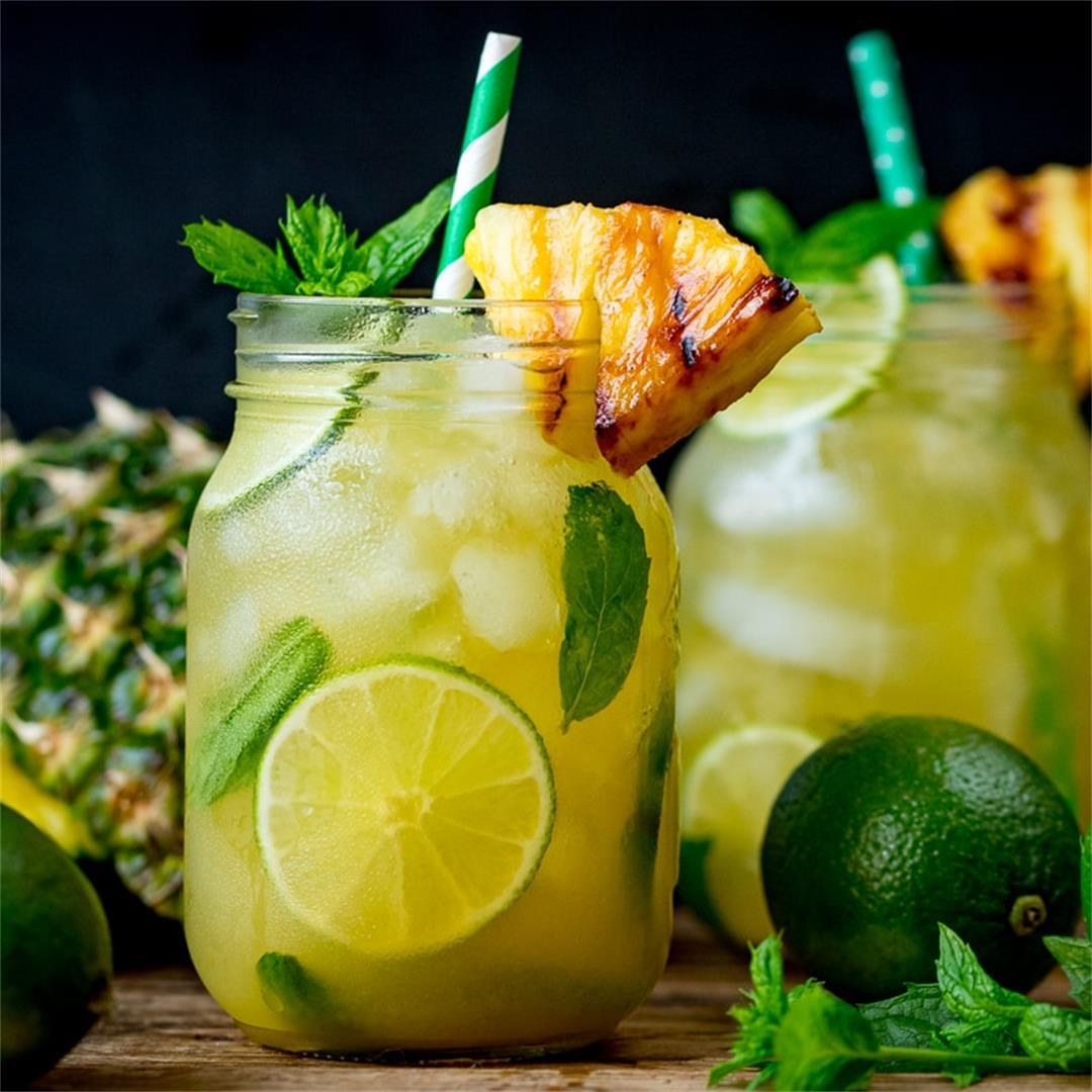 Pineapple Ginger Mojito