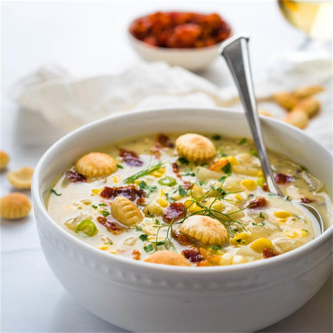 Smoky Sweet Corn Chowder