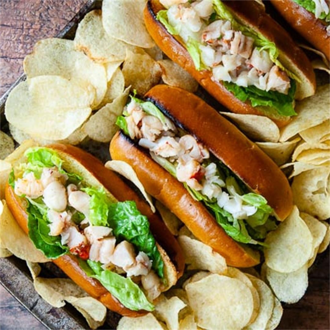 Buttery Connecticut Lobster Rolls