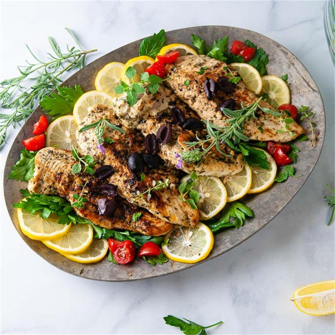Easy Greek Chicken Recipe