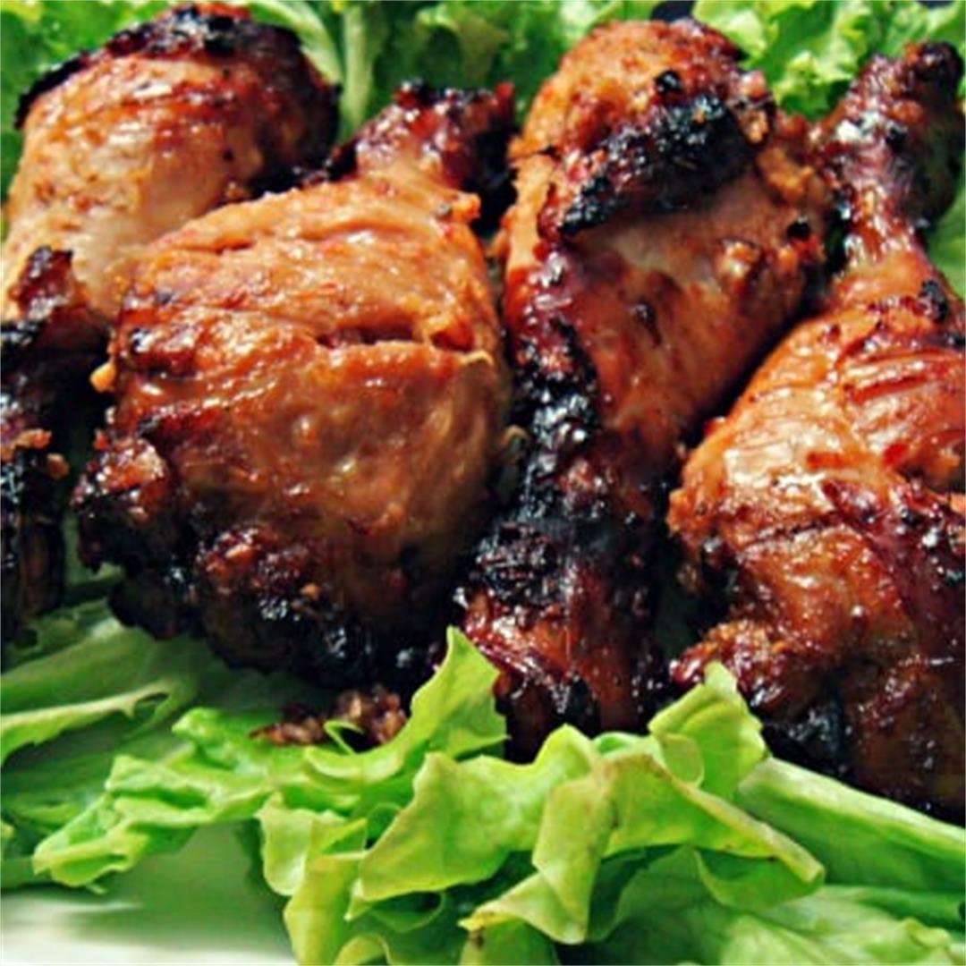 Lemongrass Roast Chicken Drumsticks – Back 2 Back