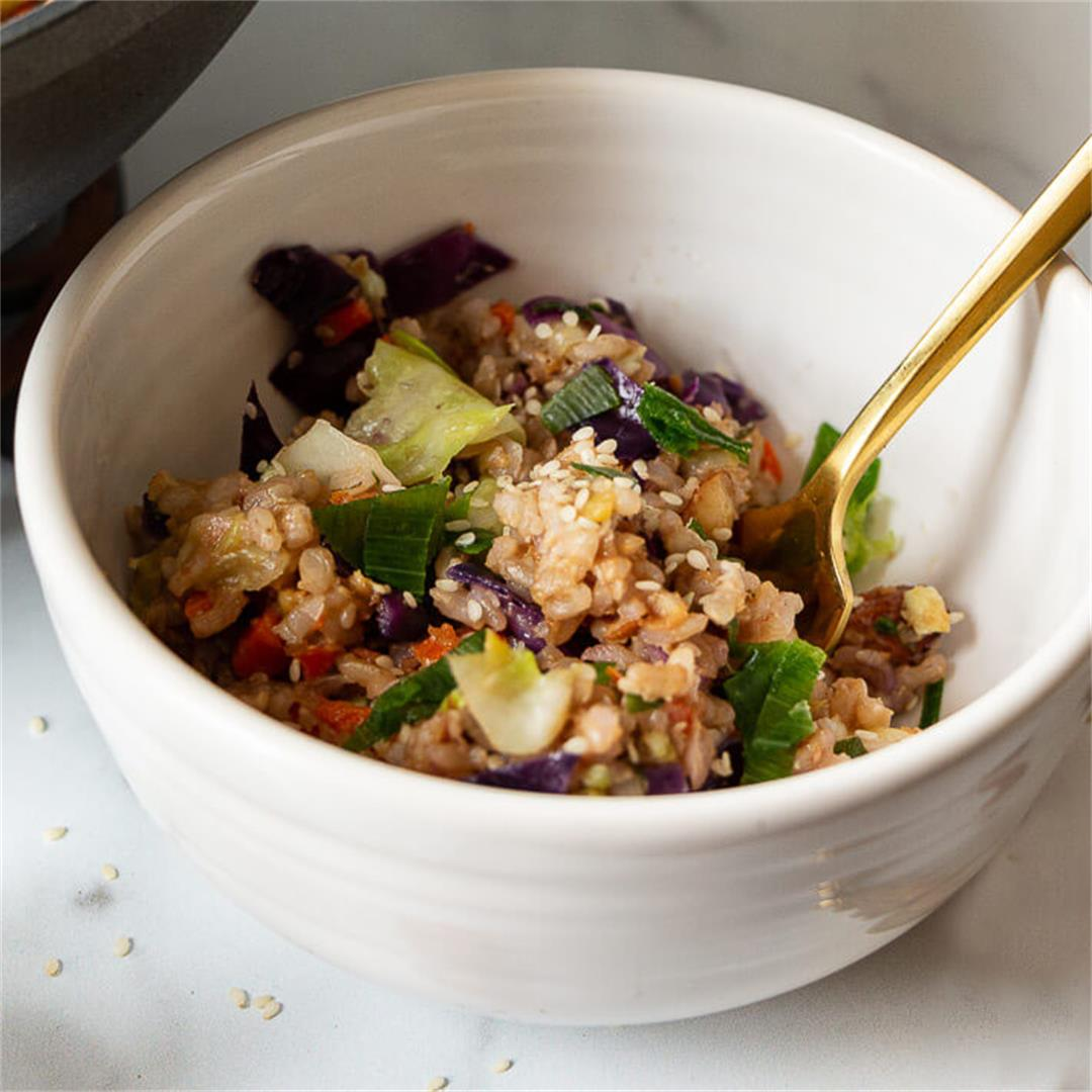 Healthy Vegetable Fried Rice