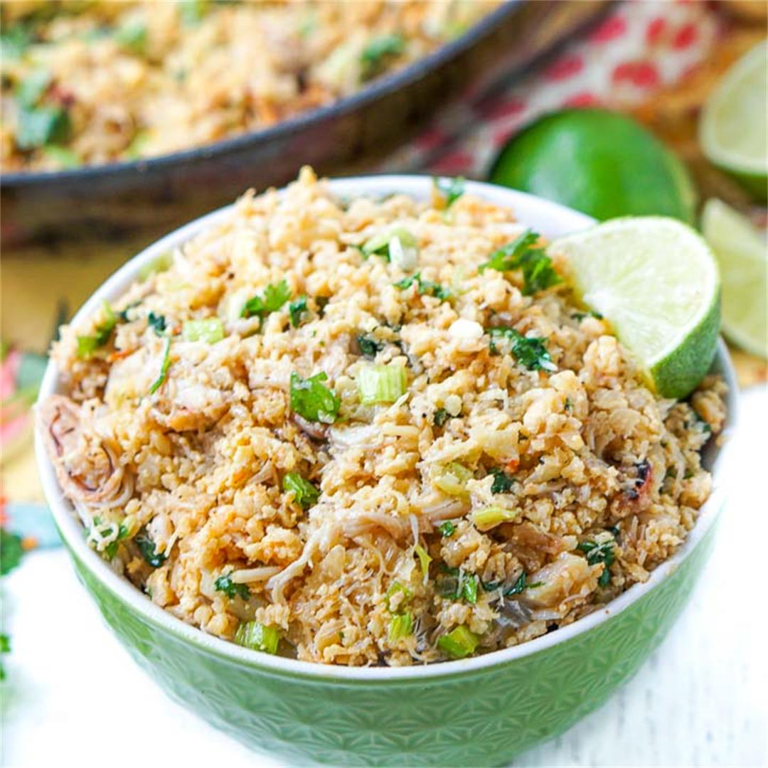 Keto Crab Fried Rice