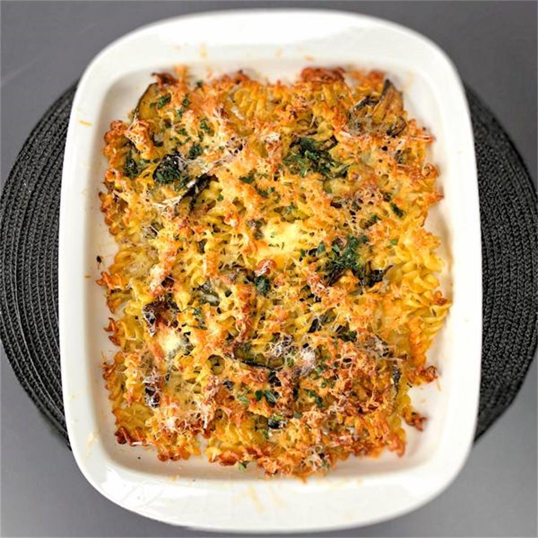 herby courgette pasta bake