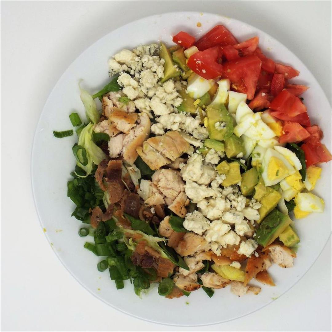 Spinach and Pork Belly Cobb Salad