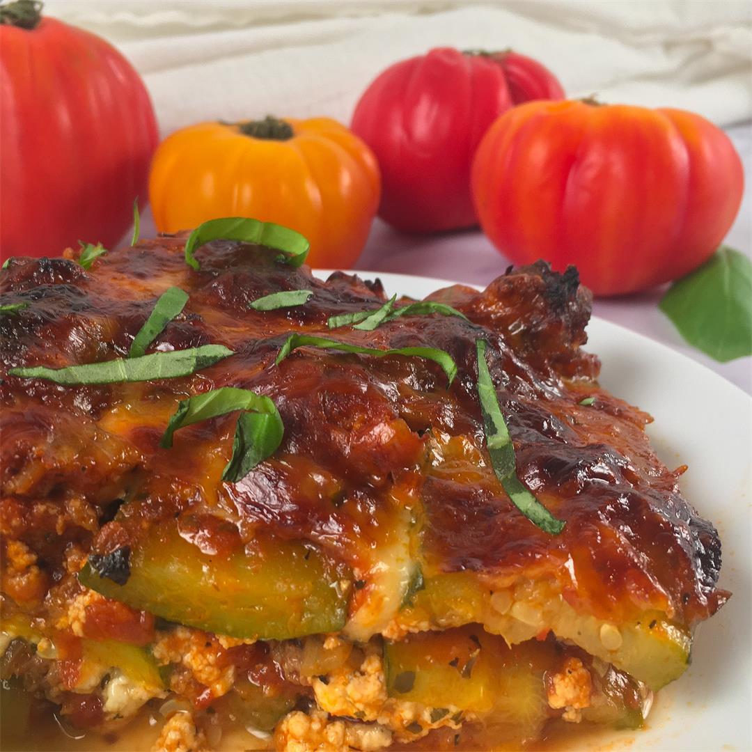 Lasagne con Zucchine (Lasagna with Zucchini)