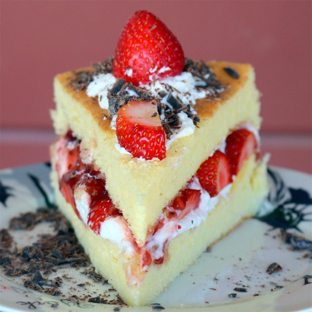 Sponge Cake 6 inch pan