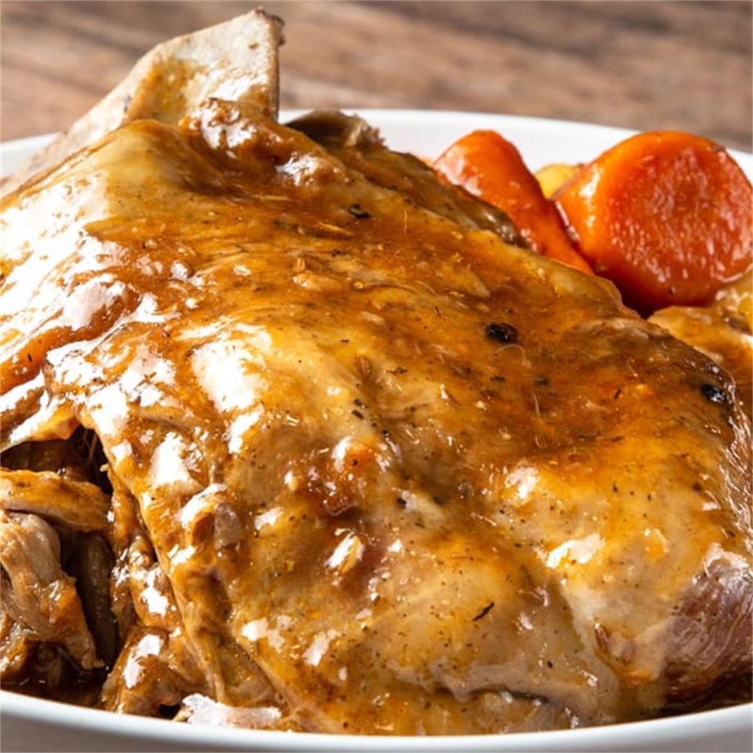 Instant Pot Tender & Flavorful Lamb Shoulder