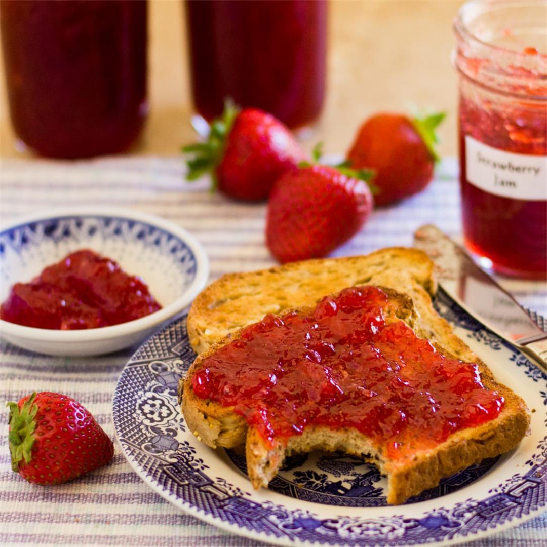 Fresh Strawberry Jam with Pectin » The Joy of an Empty Pot