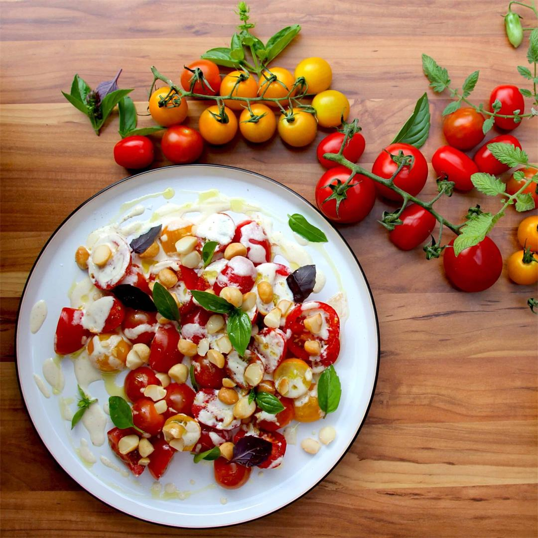 A Tomato Salad that's Not a Caprese Salad