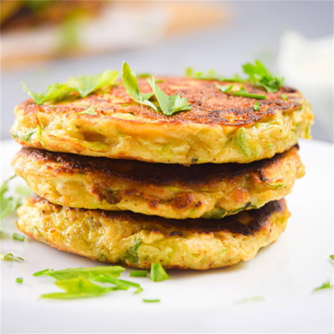 Vegetarian Zucchini 'Crab' Cakes