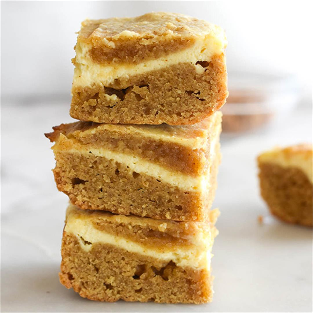 Keto Cream Cheese Blondies