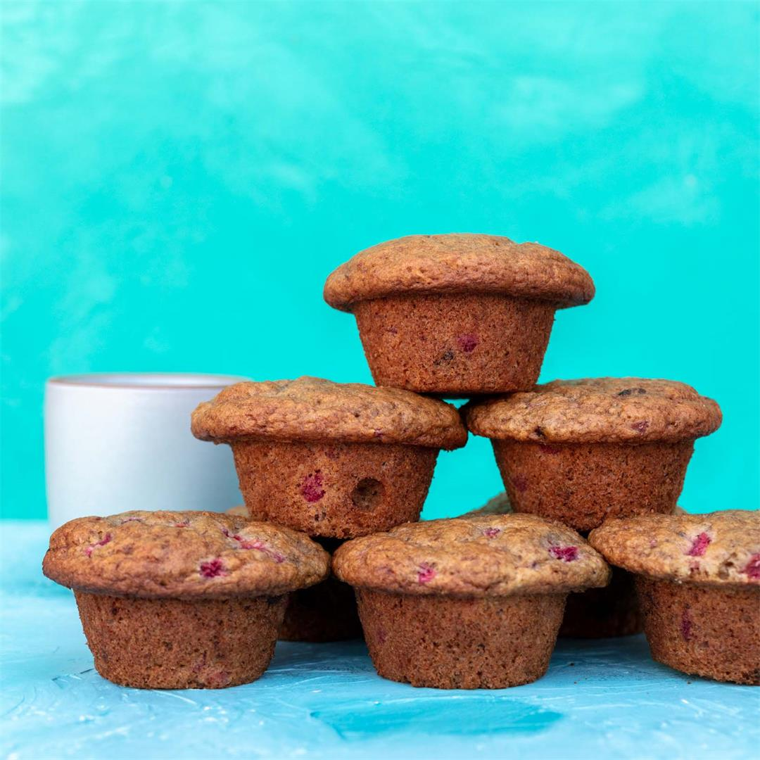 Plum Chocolate Chip Muffins (Pluffins)