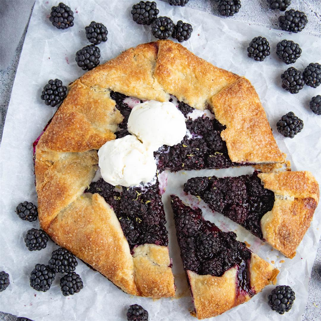 Delicious Blackberry Galette