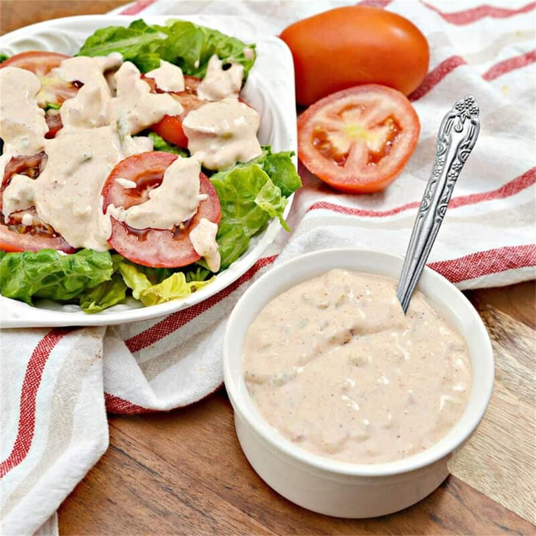 Keto Russian Salad Dressing Recipe