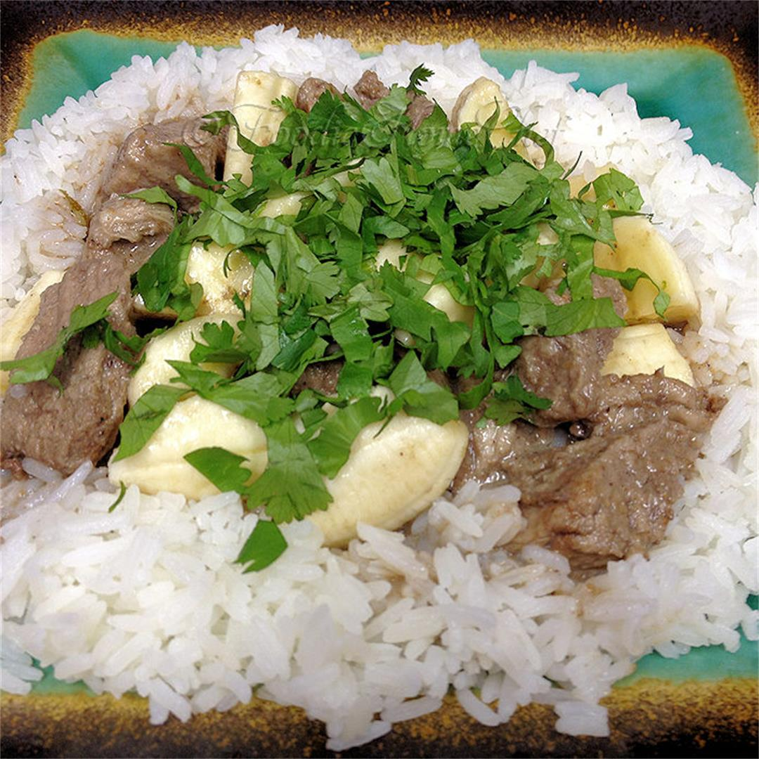 Thai Pork & Bananas