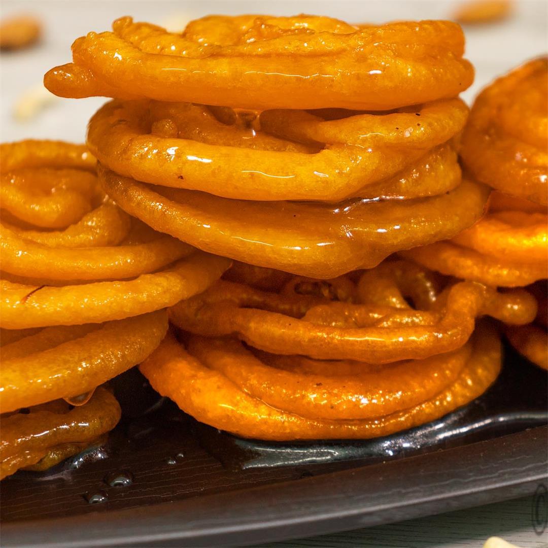 Crispy Jalebi Recipe