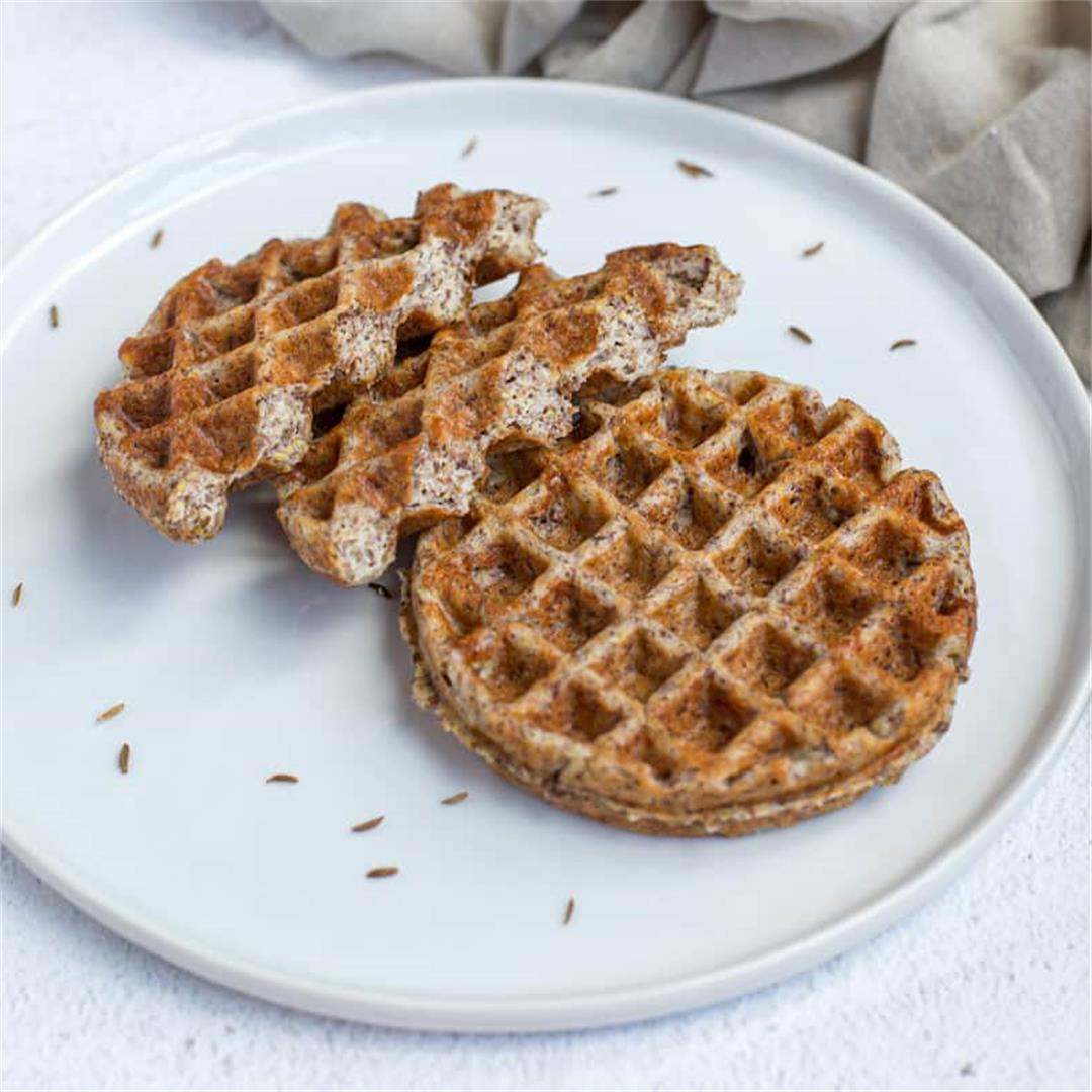 Easy Keto Rye Bread Chaffles Recipe