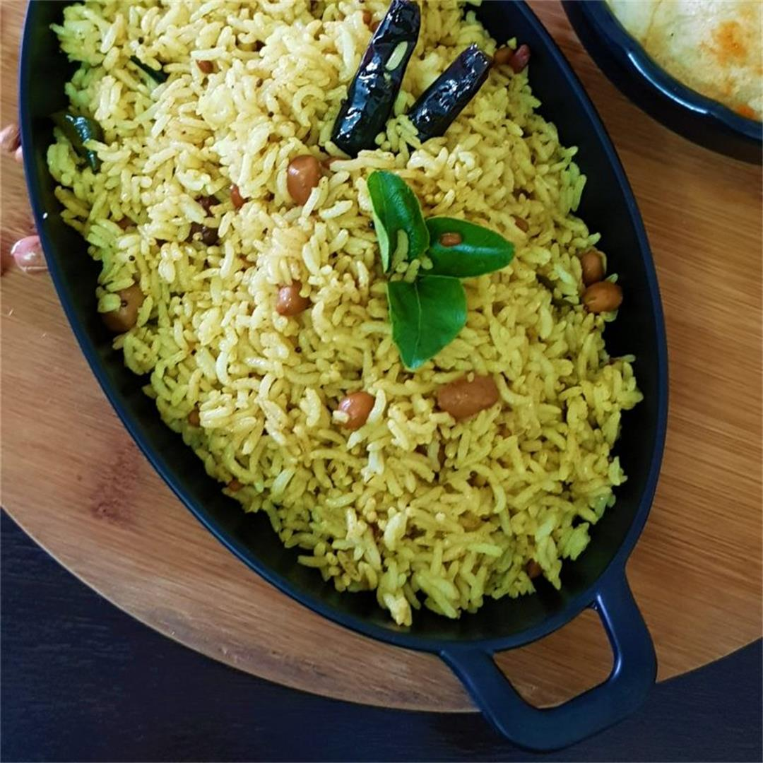Tamarind Rice/Imli Chawal/South Indian Style % %