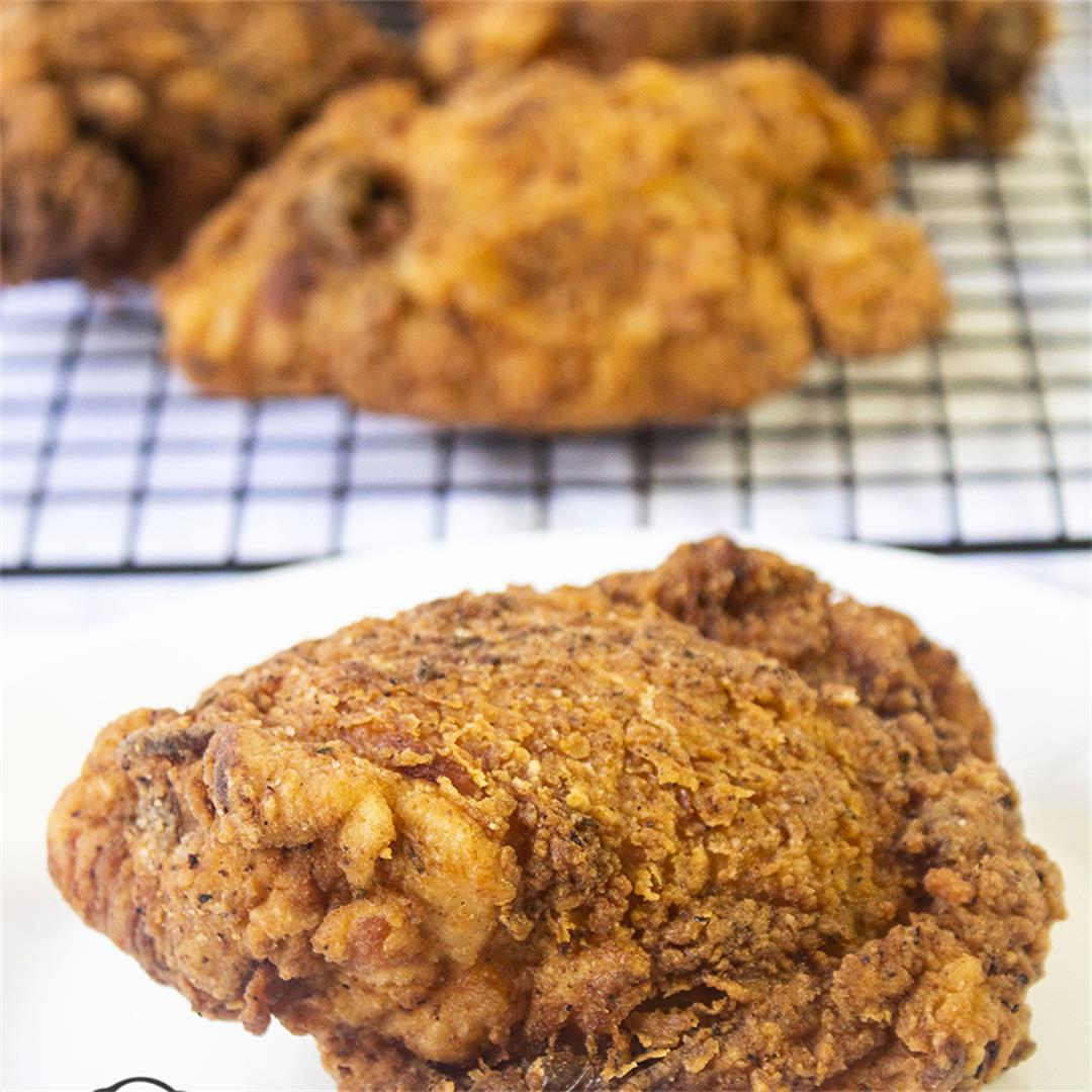 Crispy Fried Chicken Recipe-Healthy life Trainer