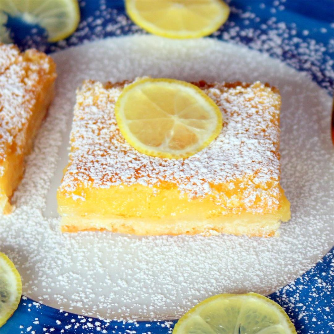 The Best Lemon Bars-7th Heaven
