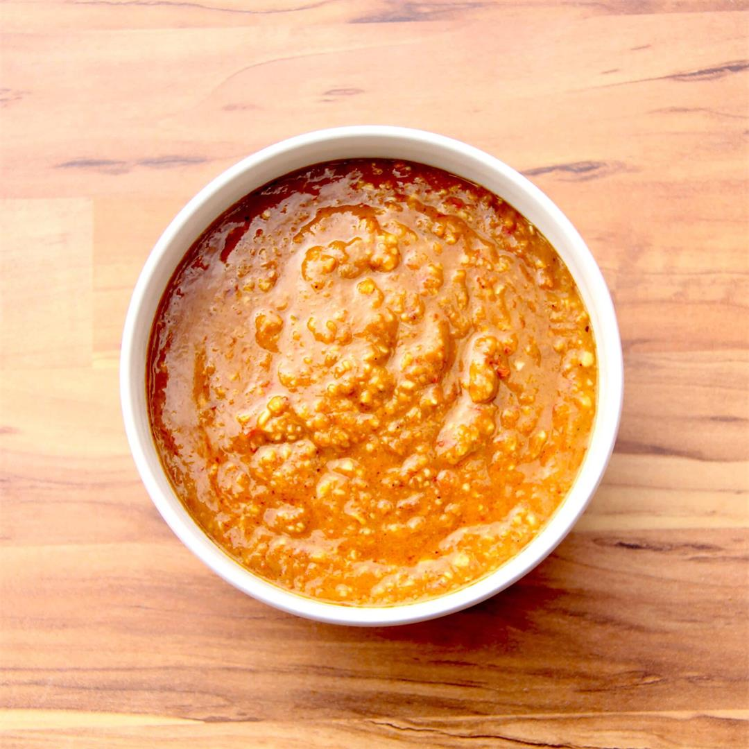 Sweet and Spicy Peanut Sauce