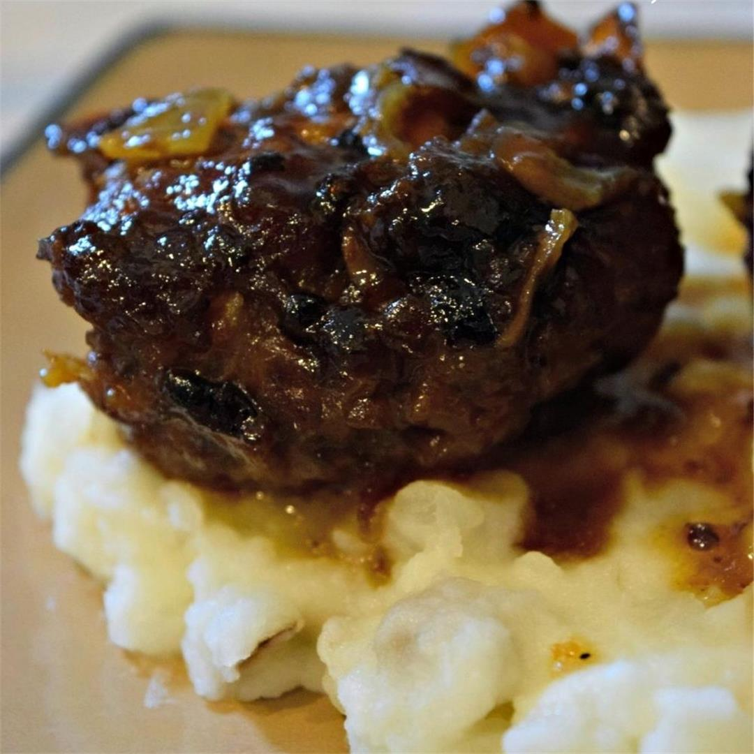 Mini Meatloaf Smothered In Bacon Jam