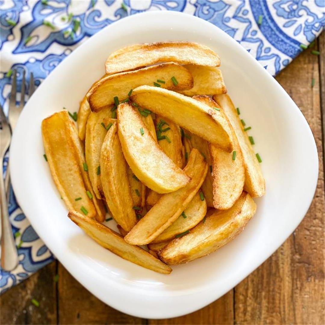 Perfect Golden Fried Potatoes