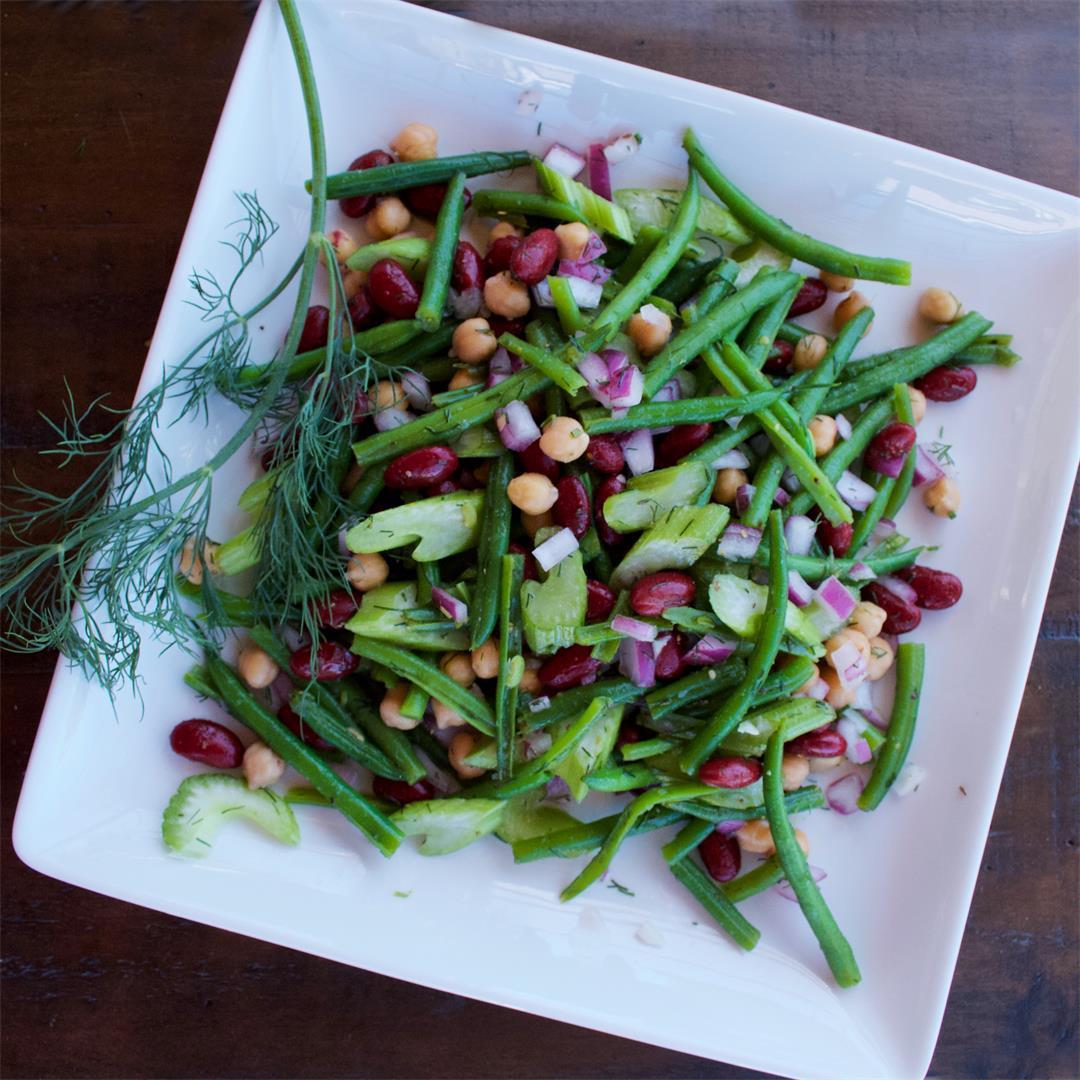 Tangy 3-Bean Salad