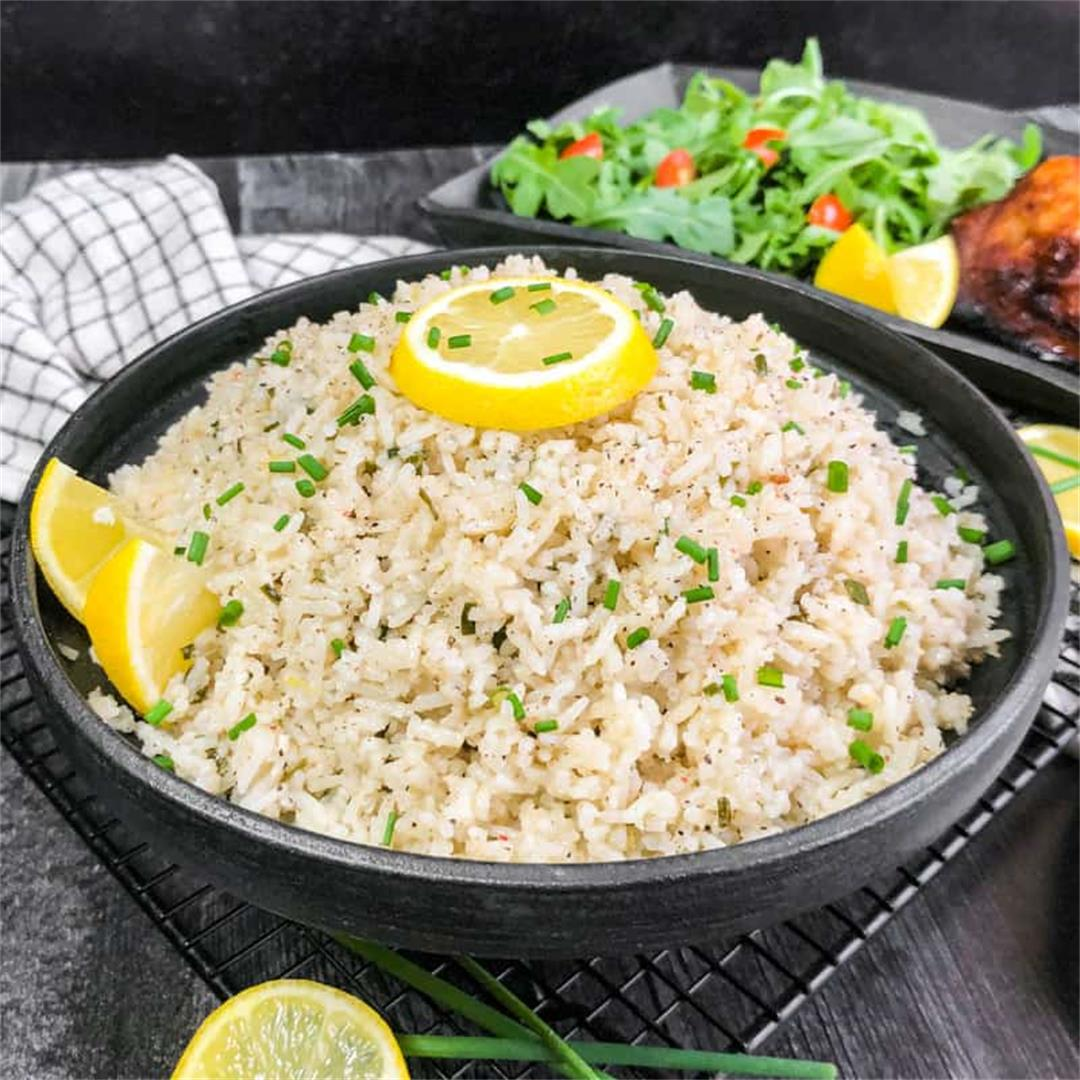 Coconut Rice with Coriander