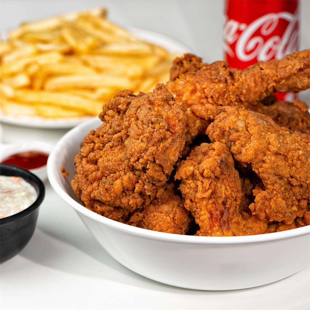 Crispy Fried Chicken/ KFC style Fried Chicken Recipe