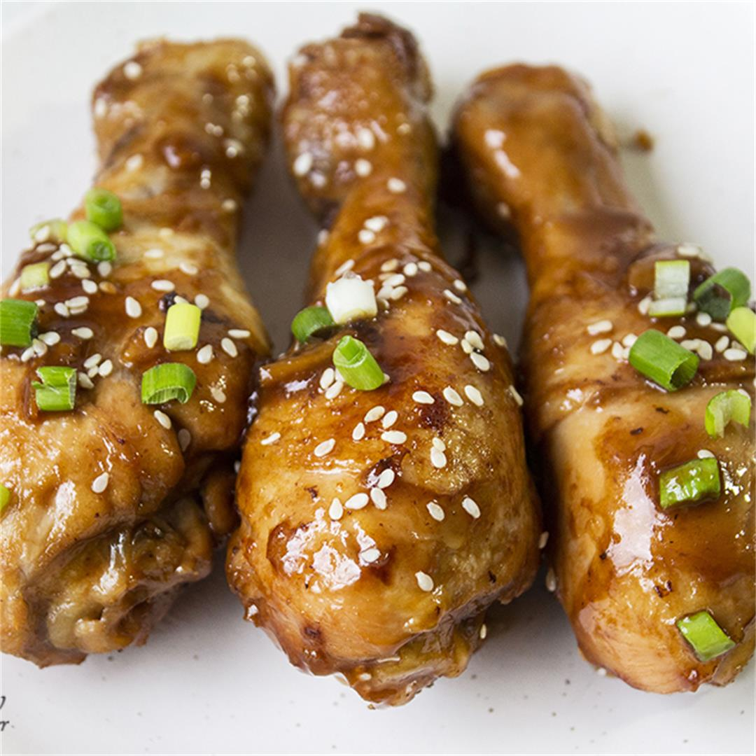 Sticky Chinese Chicken Drumsticks-Healthy life Trainer