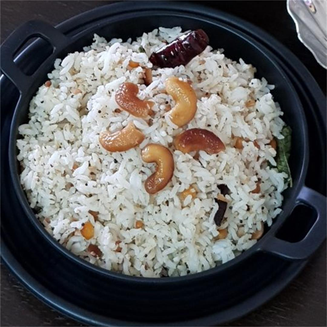 Coconut Rice/Nariyal Chawal/South Indian Style