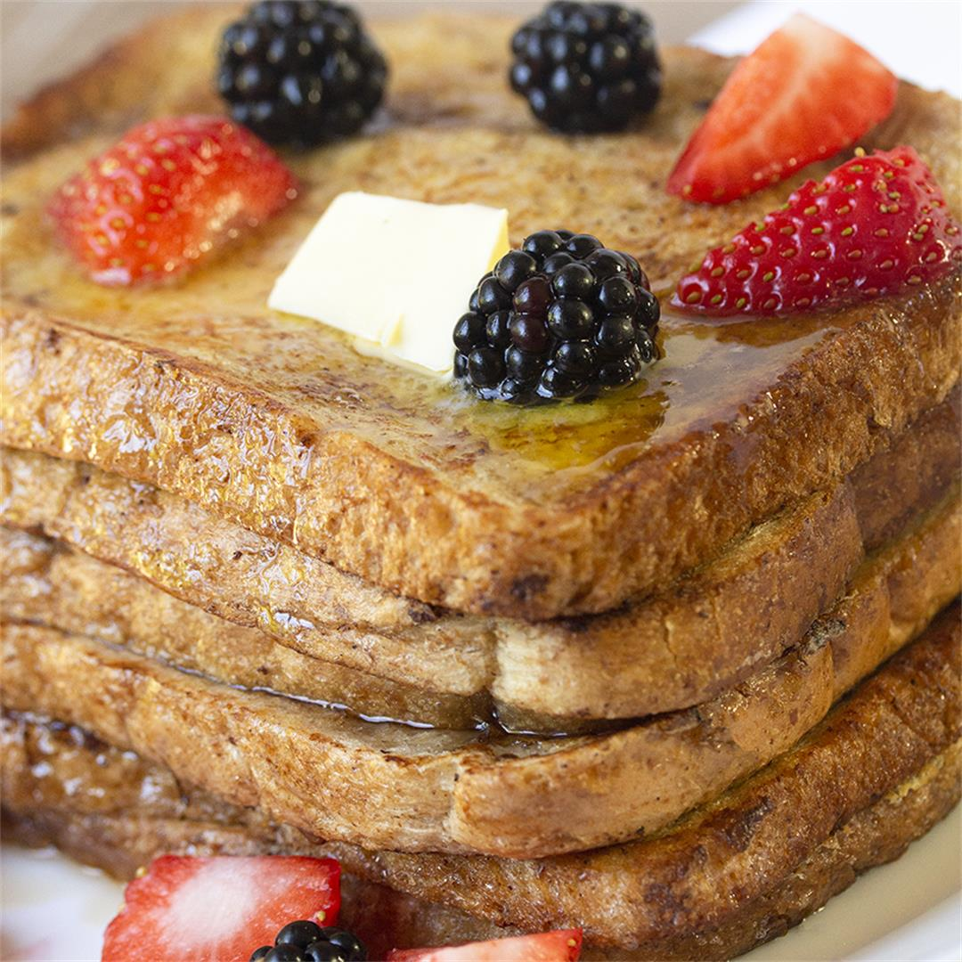 Sweet French Toast-Healthy life Trainer