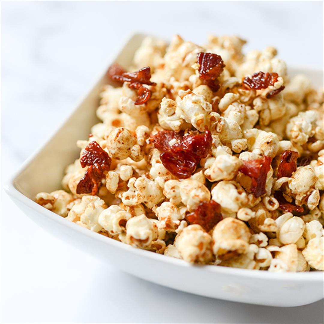 Maple Bacon Popcorn Recipe