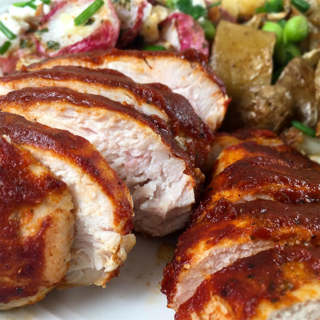Air Fryer BBQ Chicken (Easy Dinner Idea!)
