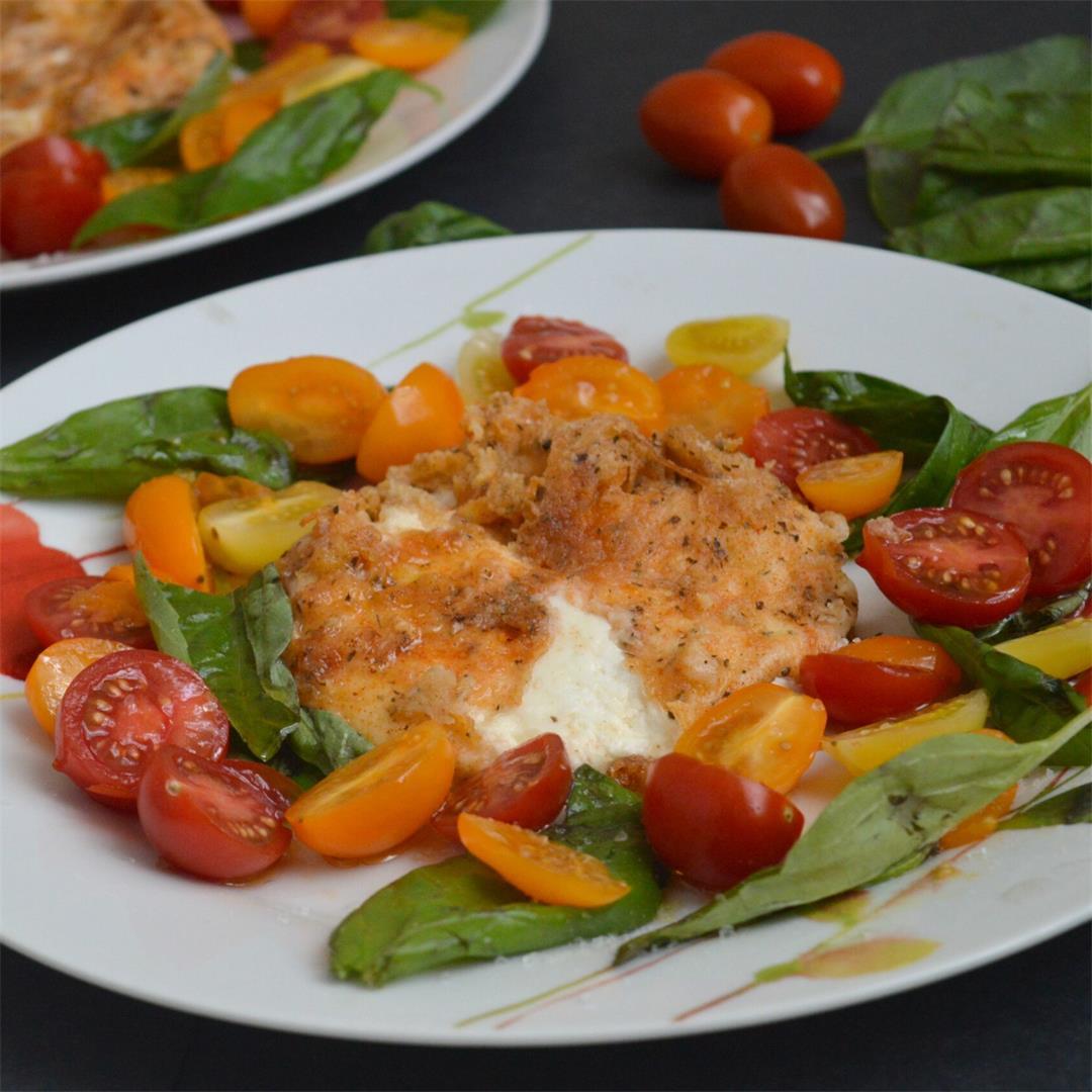 Deep-fried Burrata Salad — Tasty Food for Busy Mums Salad