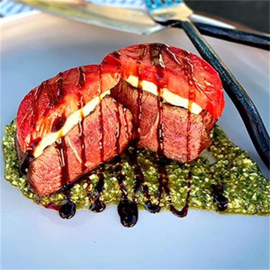 Caprese Grilled Fullblood Wagyu Filet Mignon