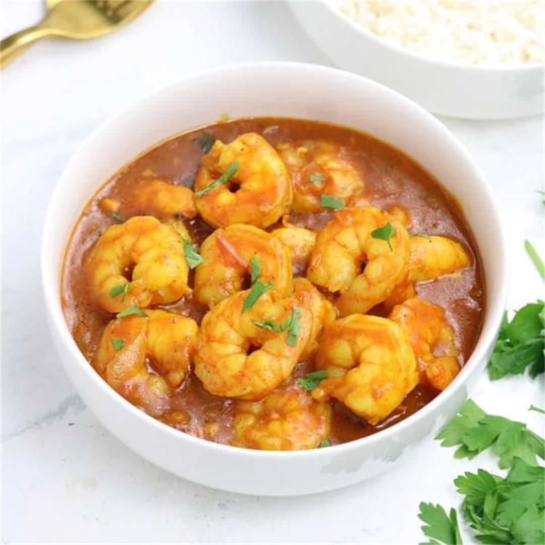 Easy Coconut Shrimp Curry Recipe